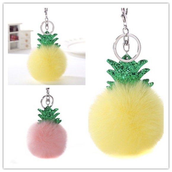 Accessories - 3/$25 Fluffy Soft Pineapple 🍍 Accessory